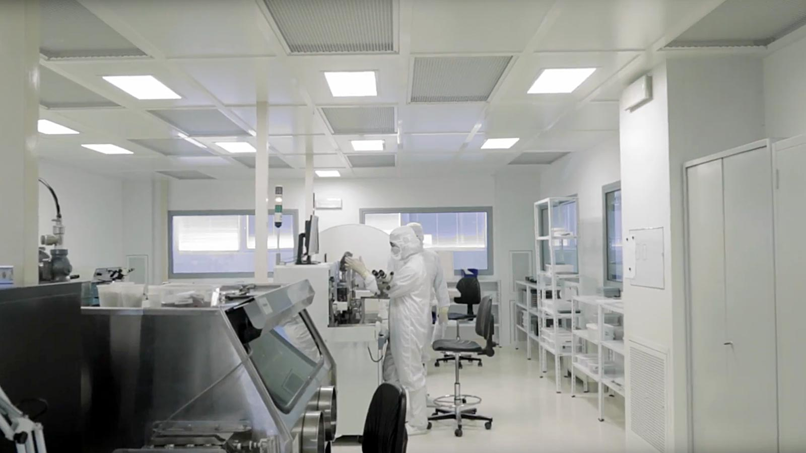 The UpSens laboratory where detectors and meters of environmental parameters are assembled